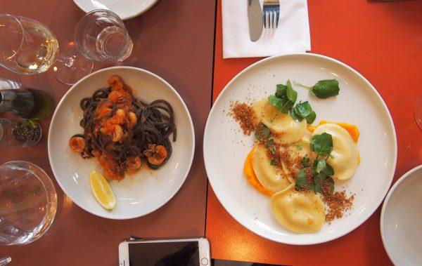 Pasta Italiaans restaurant Panini Amsterdam