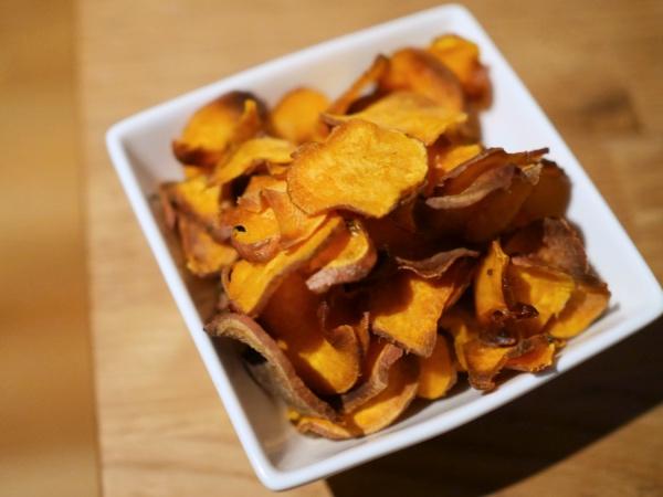 Chips zoete aardappel recept