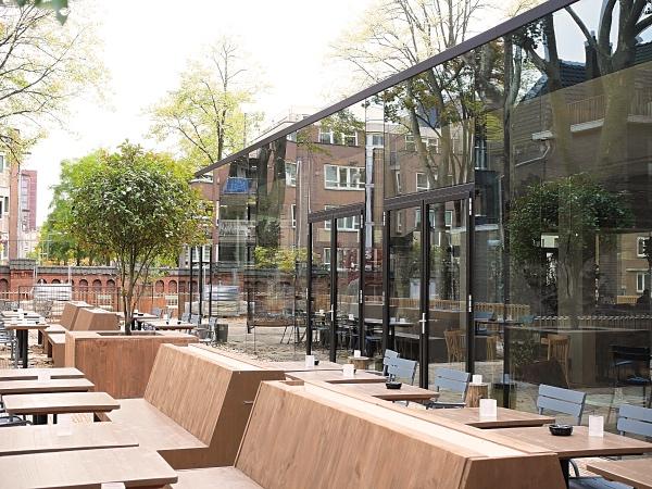 Restaurant park amsterdam terras bysam for Nieuwe restaurants amsterdam