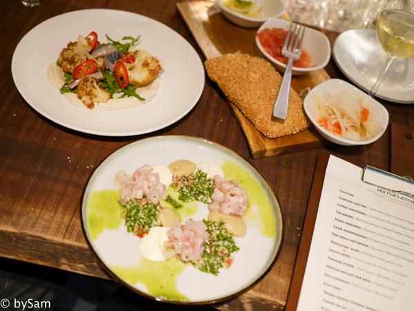 Bar Fisk Israelisch eten BARDAK