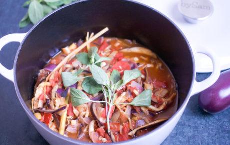 Heerlijk recept voor Vietnamese stoofpot met aubergine