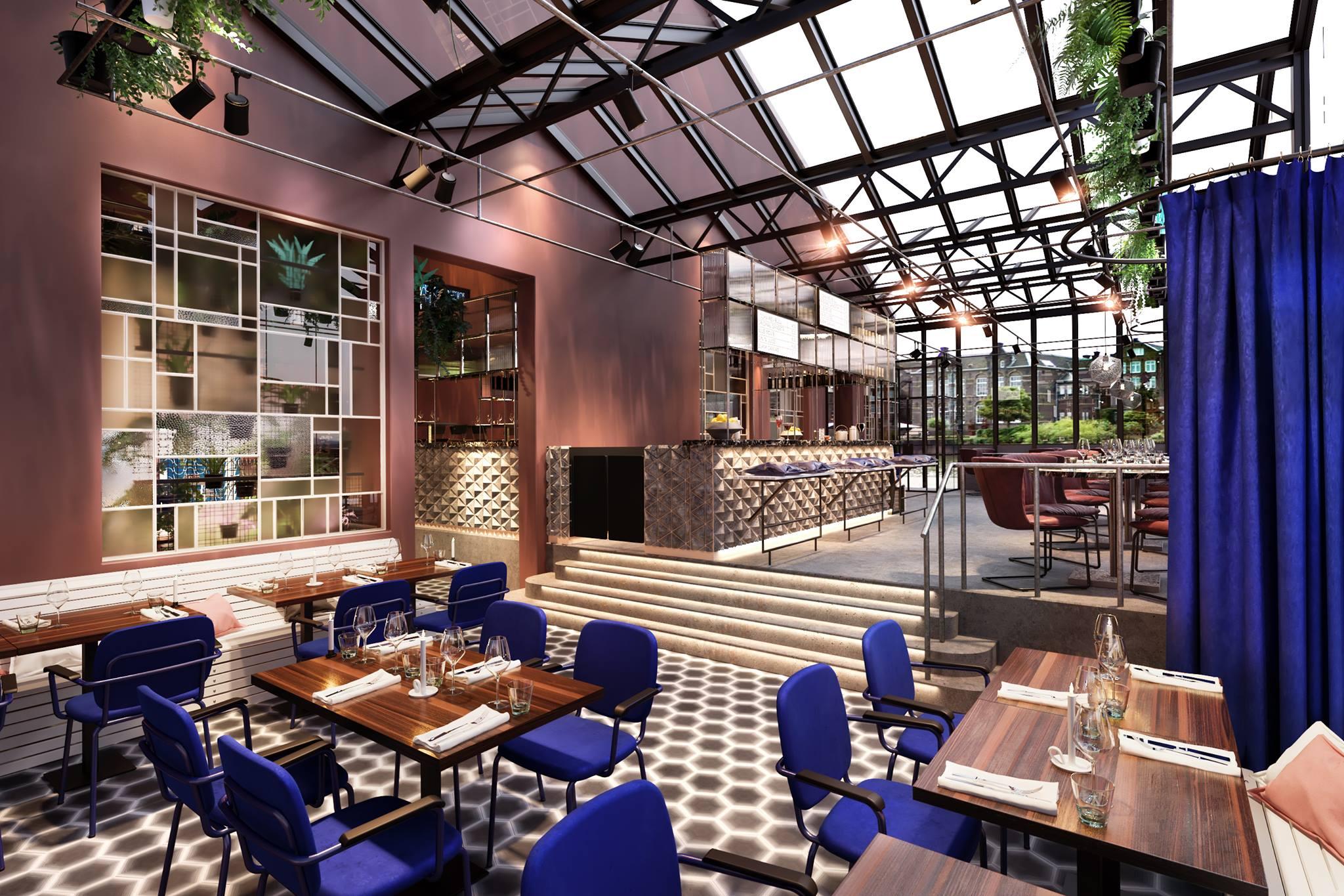 De kop van oost nieuwe stunning bar en restaurant in for Nieuwe restaurants amsterdam