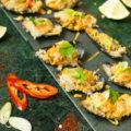 Mosselen srirachamayonaise Japans panko recept