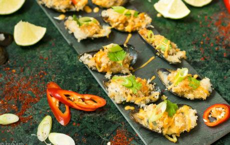 Recept: krokante mosselen uit de oven met sriracha mayonaise