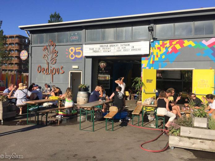 Oedipus Brewery bierbrouwerij proeflokaal Amsterdam Noord