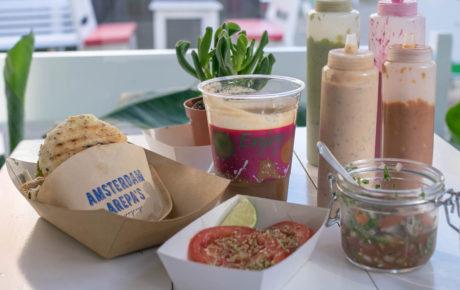 Venezolaanse chef opent arepa's shop in de Amsterdamse Pijp