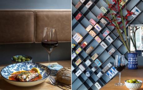 The Can Bar is het eerste restaurant met (luxe) vis uit blik in de hoofdrol
