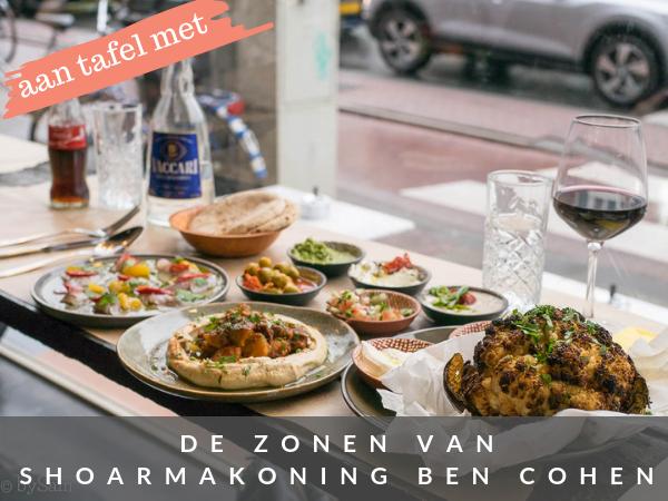 Ben Cohen Tel Aviv Streetfood Amsterdam restaurant Israelisch