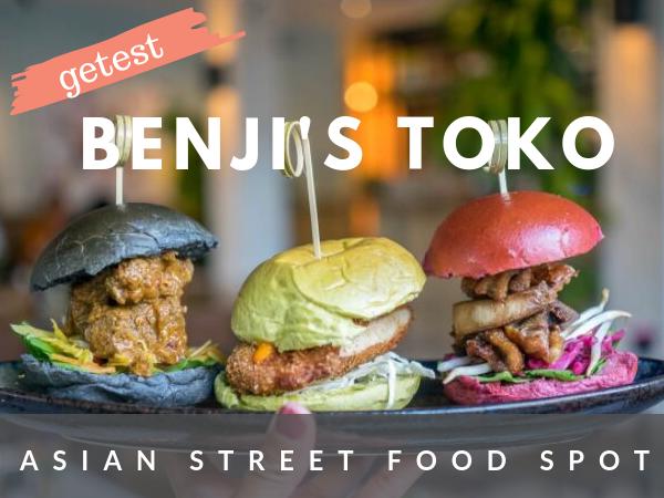 Benji's Toko Amsterdam West streetfood restaurant