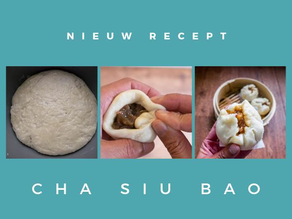 Cha siu bao recept zelf maken Aziatisch