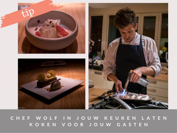 Wolf on Location chef kookt bij je thuis