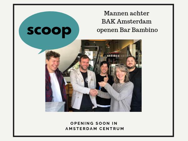 Bar Bambino Amsterdam Centrum nieuw
