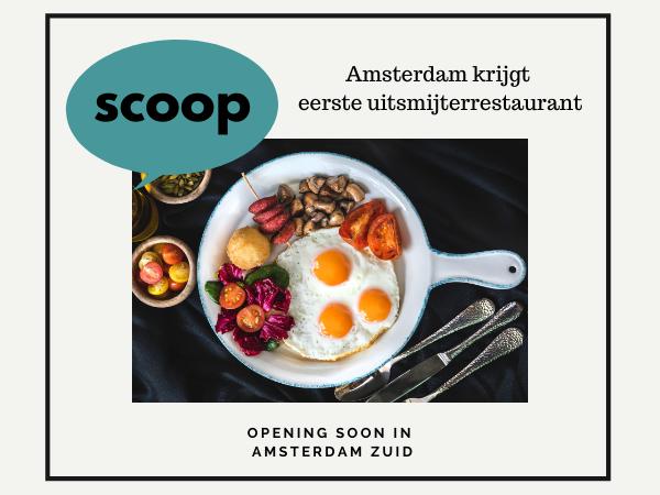 Uitsmijterrestaurant Amsterdam Zuid Rivierenbuurt