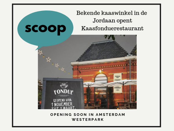 Kaasfondue restaurant Extraordinaire Amsterdam kaas eten