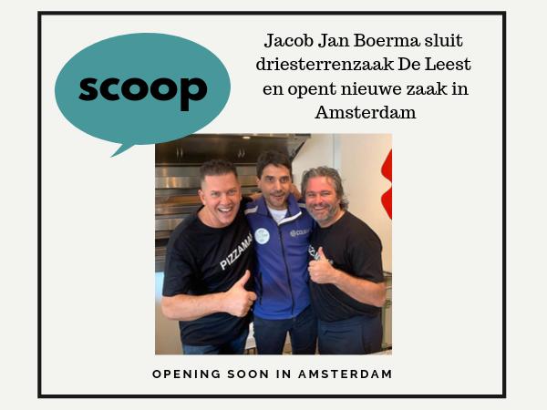 Jacob Jan Boerma van De Leest opent een zaak in Amsterdam