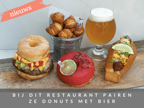 Donut and Dogs bier pairen