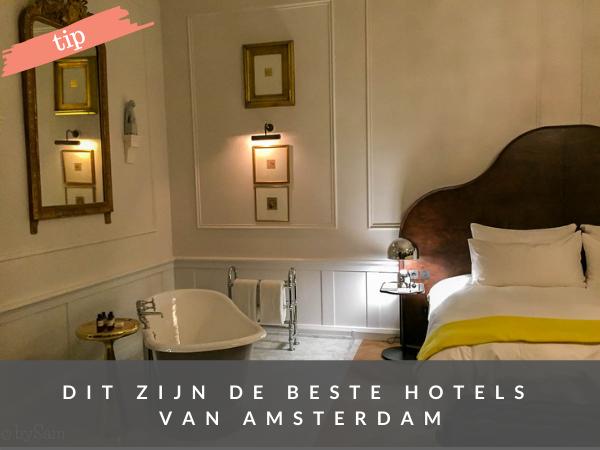 Beste hotels in Amsterdam om te overnachten
