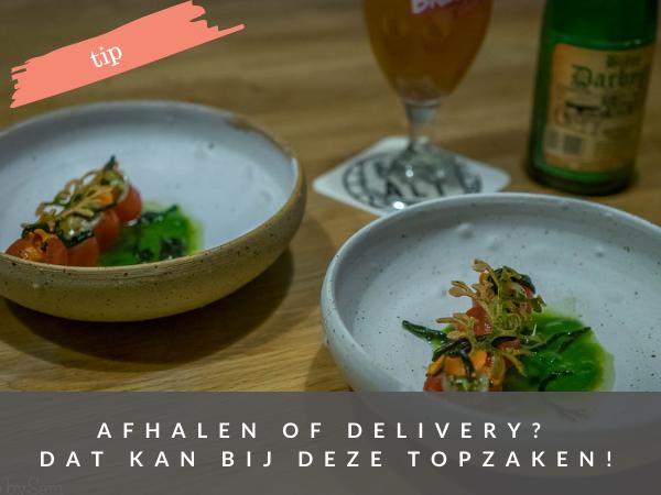 Restaurants die bezorgen of waar je kunt afhalen in Amsterdam