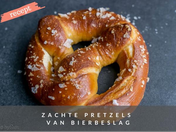 Zachte pretzels zelf maken recept bakken