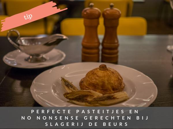 Restaurant Slagerij de Beurs Amsterdam centrum