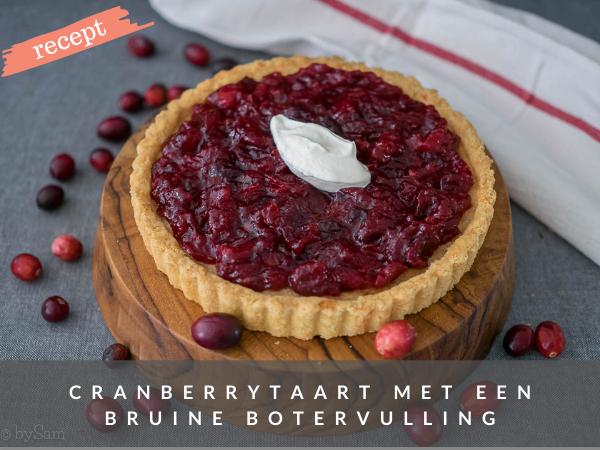 recept cranberrytaart