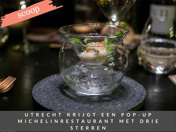 Staycation Utrecht restaurant Rechtbank Michelinsterren
