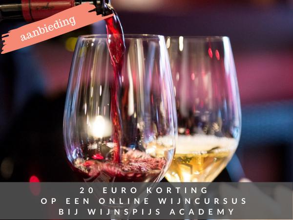 WijnSpijs Academy korting wijncursus online