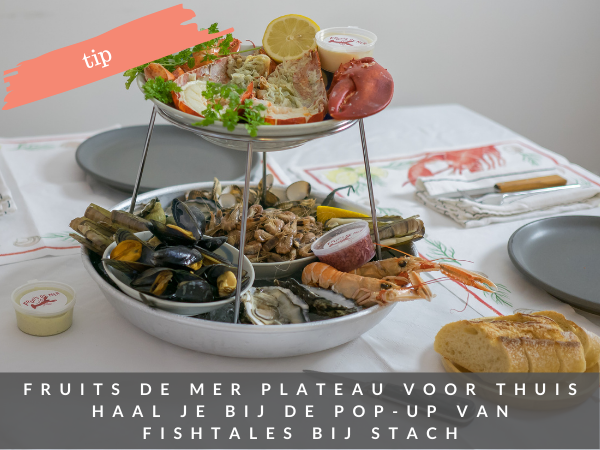 Pop up fruits de mer shop Amsterdam Fish Tales STACH Amsterdam