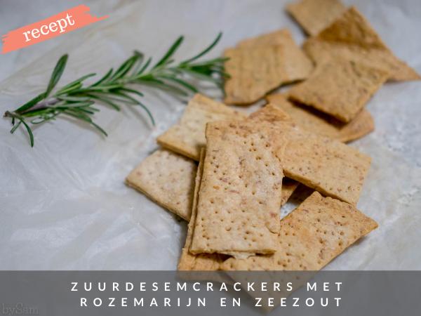 Recept zuurdesemcrackers bakken