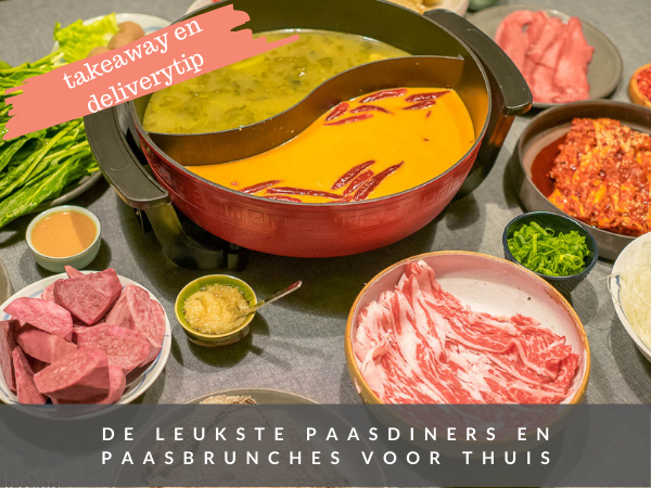 Takeout en delivery tips voor Pasen brunch diner Paas 2021