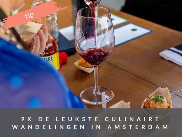 Restaurantwandelingen Amsterdam