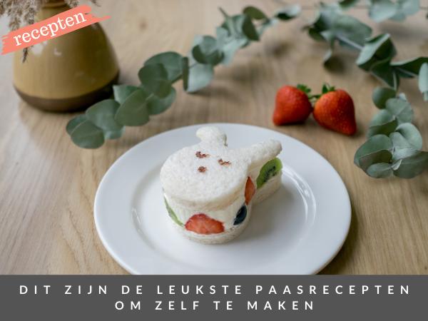 Recepten Pasen 2021 fruit sando