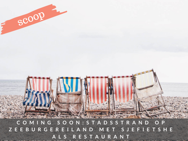 Strand Zeeburgereiland Amsterdam Oost nieuw beach