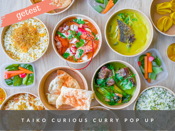 Taiko Amsterdam afhaal delivery curry pop up