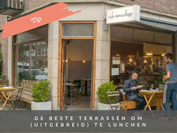 Dinchen tips terras dinch Amsterdam