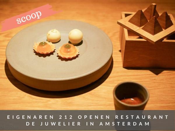 Restaurant De Juwelier Amsterdam nieuw