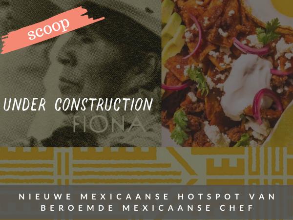 Mexicaans restaurant Fiona Amsterdam nieuw