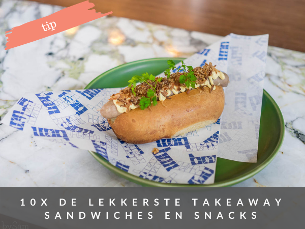 Takeaway sandwich snacks Amsterdam