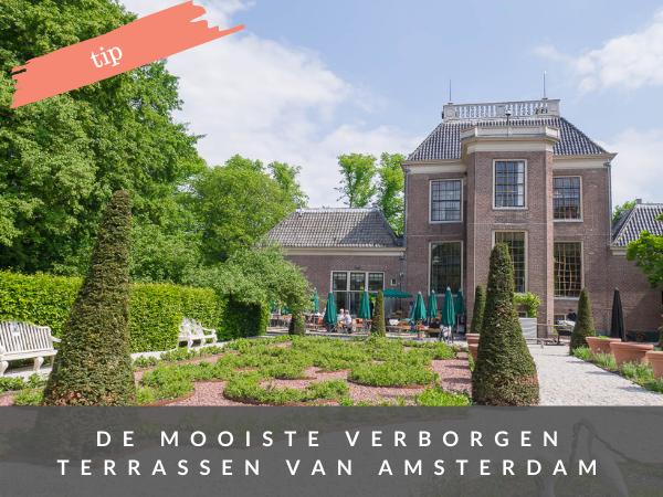 Amsterdam terrassen verborgen