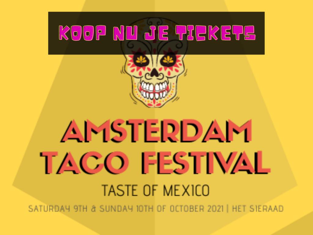 Amsterdam Taco Festival koop tickets