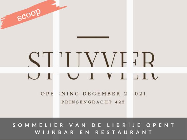 Restaurant wijnbar Stuyver Amsterdam
