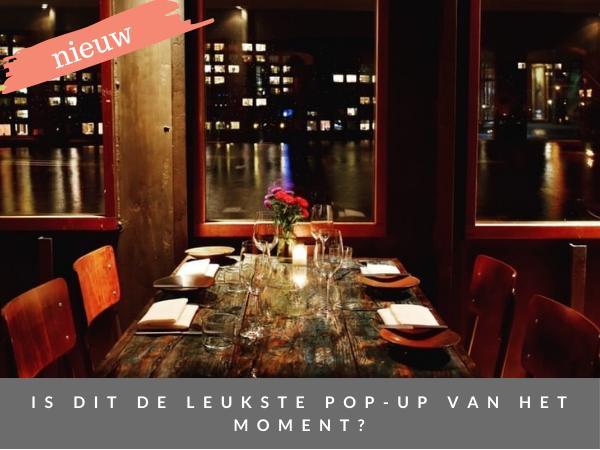 Nieuw pop-up restaurant De Kok & De Maître LIZBOA Amsterdam